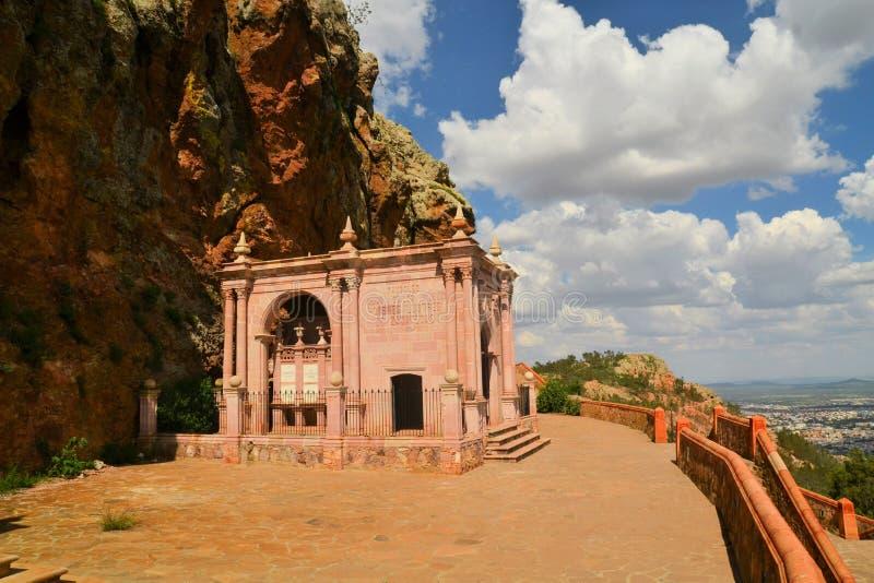 Mauzoleum na Cerro De Los angeles Bufa, Zacatecas, Meksyk obrazy royalty free