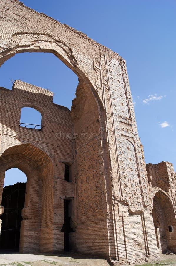 mauzoleum rujnuje Samarkand Uzbekistan fotografia royalty free