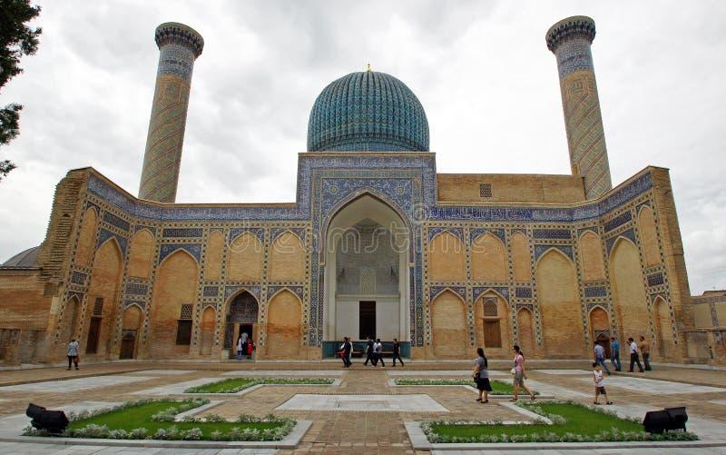 Mauzoleum, Samarkand, Uzbekistan obraz royalty free