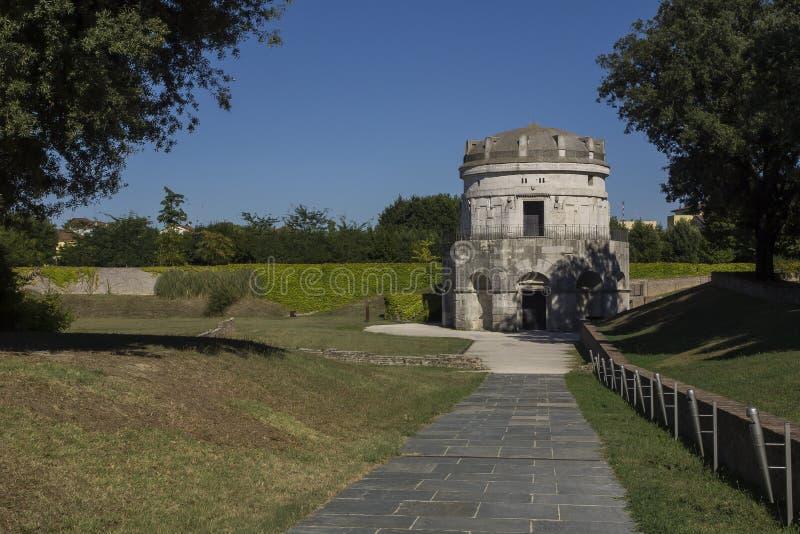 Mauzoleum Theodoric, Ravenna zdjęcia royalty free