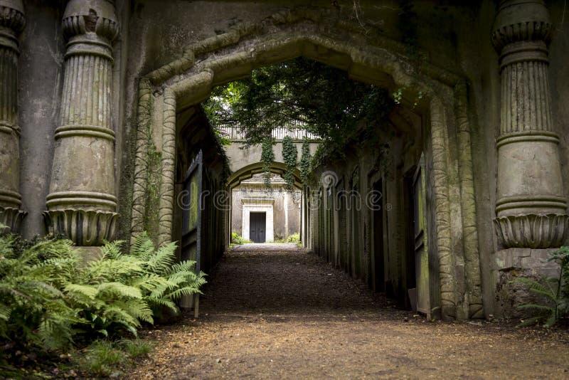 Mauzoleum w cmentarzu - 5 obrazy stock