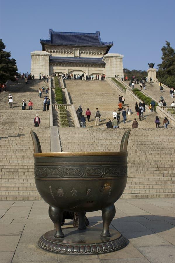 mauzoleumu sen Słońce Yat obraz royalty free