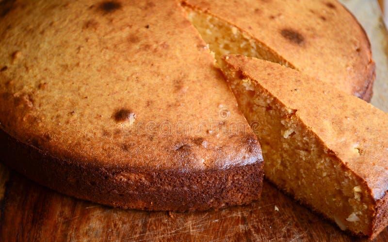 Mava cake basic sponge cake stock image