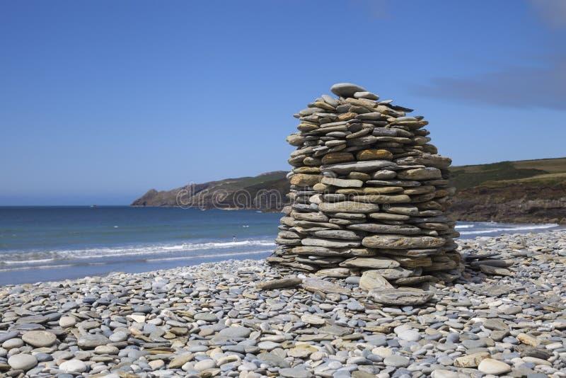 Mawr de Aber, Pembrokeshire fotos de stock