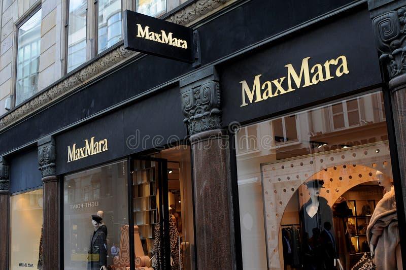 MAX玛拉商店在哥本哈根 免版税库存图片