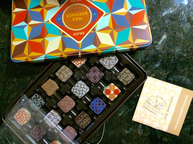 Max Brenner Chocolates fotografie stock libere da diritti