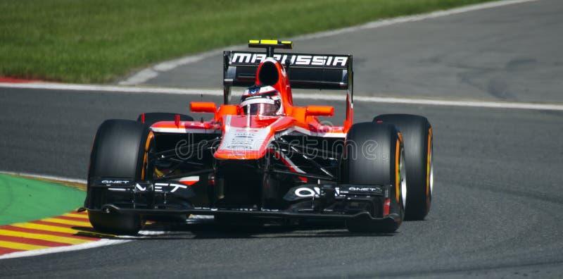 Max Chilton Marussia foto de stock royalty free