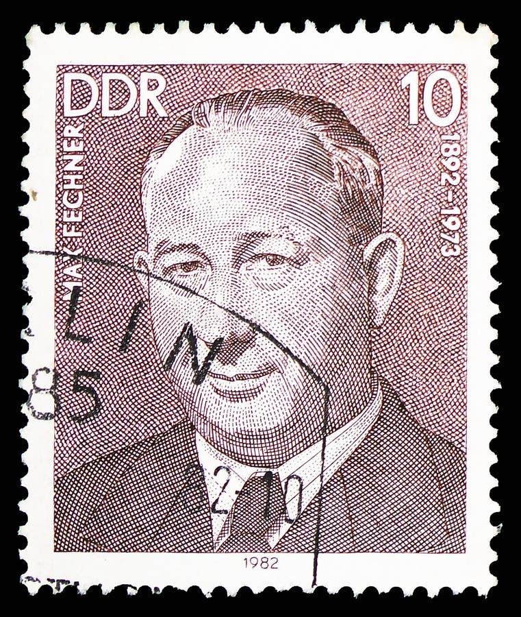 Max Fechner, personalidades do serie alemão do movimento laboral, cerca de 1982 fotografia de stock