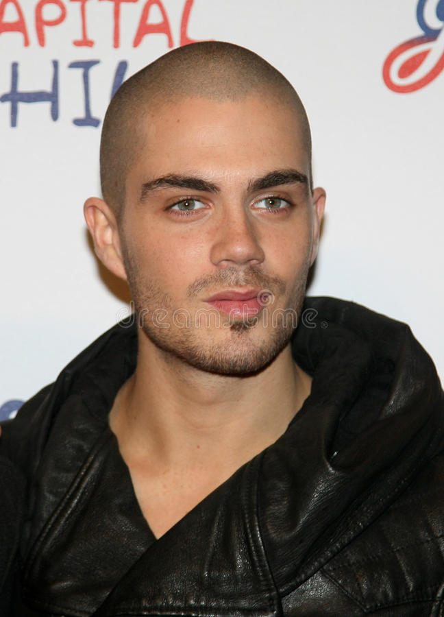 Max George, The Wanted stock photo