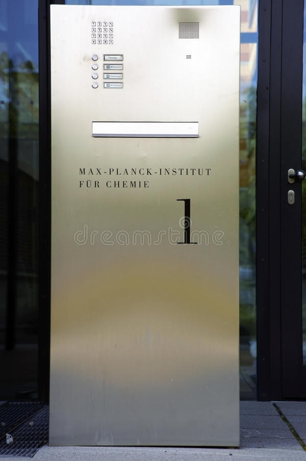 Free Max-Planck-Institute For Chemistry Royalty Free Stock Images - 44463669