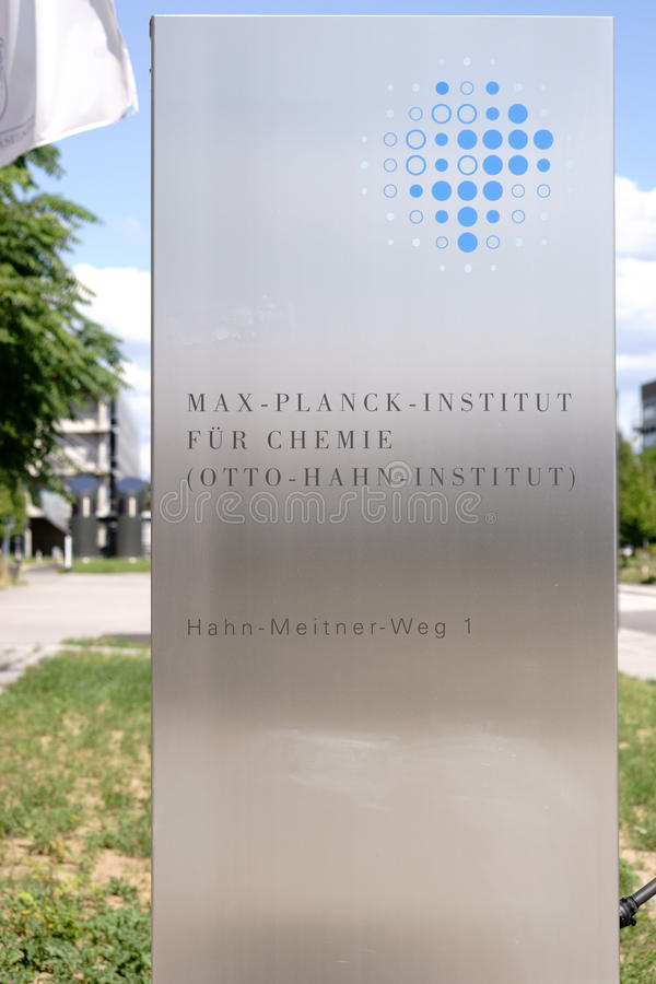 Free Max-Planck-Institute For Chemistry Stock Images - 97564644