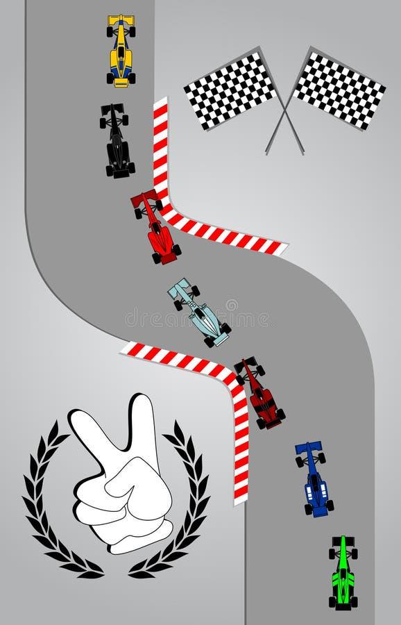 Max speed stock illustration