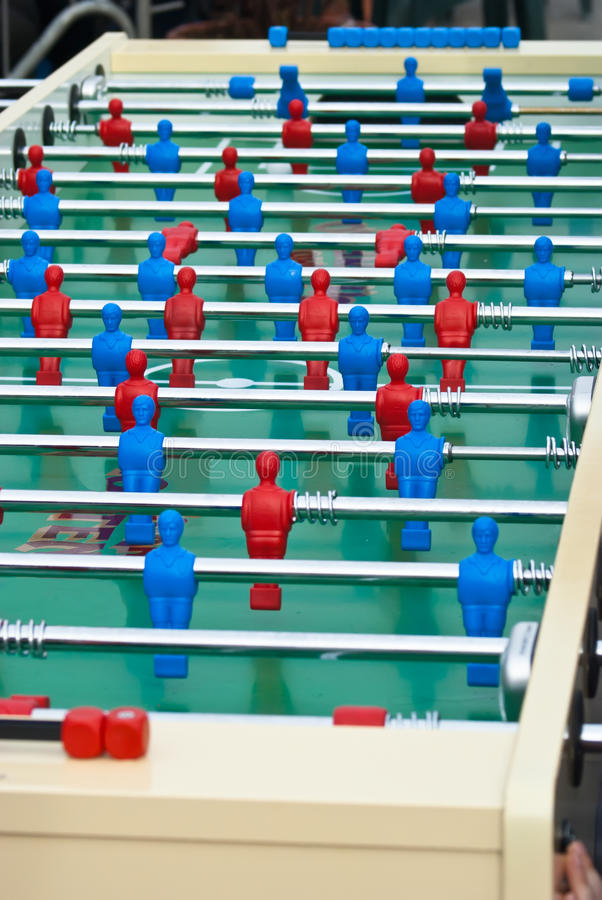Download Maxi table foosball stock photo. Image of compete, fan - 33052746