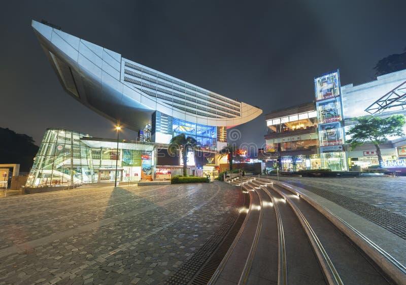 Maximalt torn i den Hong Kong staden arkivfoto