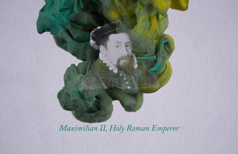 Maximilian II, Roman Emperor santamente ilustração royalty free