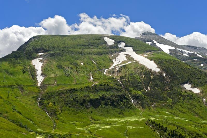 Maximum Mont Joly arkivbilder
