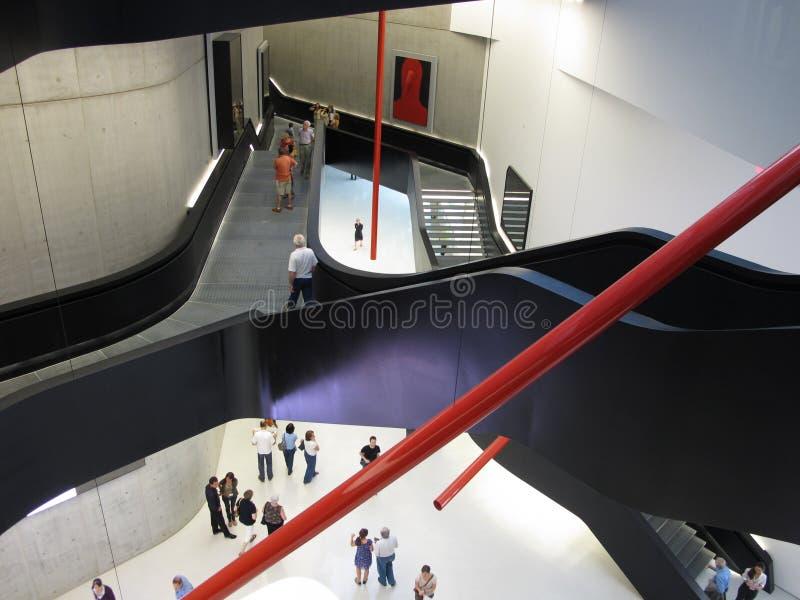 MAXXI, музей современного искусства XX столетия стоковые изображения