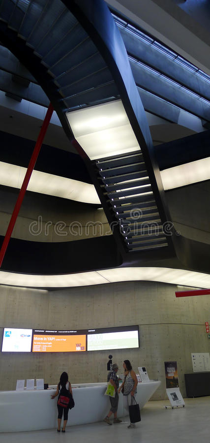 Download Maxxi, National Art Museum Of XXI Century, Rome Editorial Stock Image - Image of project, city: 25465759