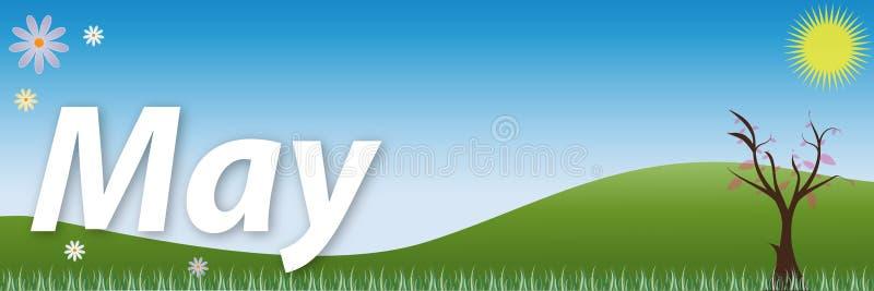 Download May stock vector. Image of seasonal, calendar, twig, background - 12129051