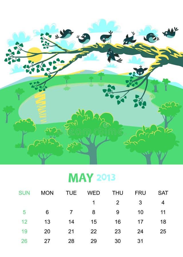 May stock illustrationer