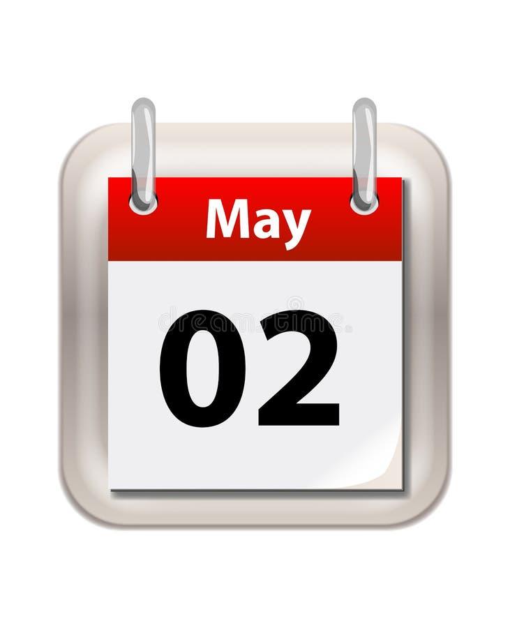 Free May Calender Stock Image - 46748721
