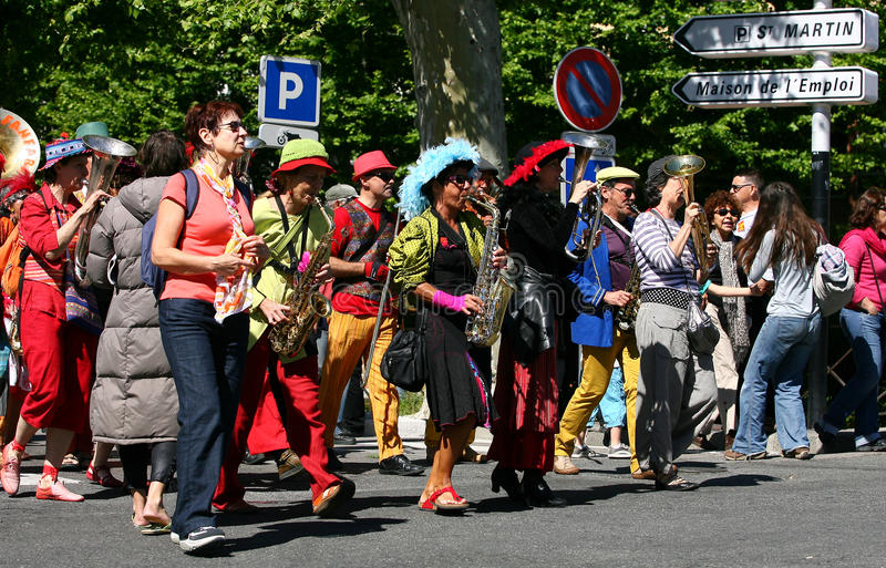 Download May Day editorial photography. Image of atmosphere, france - 24605882