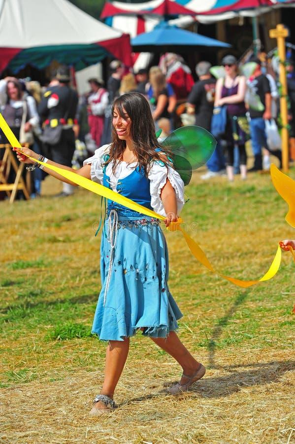 May pole dance at a local Renaissance fair