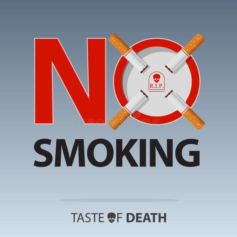 May 31st World No Tobacco Day. Banner for No Smoking Day Awareness. Stop Smoking Campaign. Stop smoking sign concept. Vector vector illustration