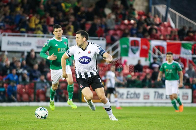 Brian Gartland during the Cork City FC vs Dundalk FC match at Turners Cross for the League of Ireland Premier Division. May 17th, 2019, Cork, Ireland - Brian stock photos