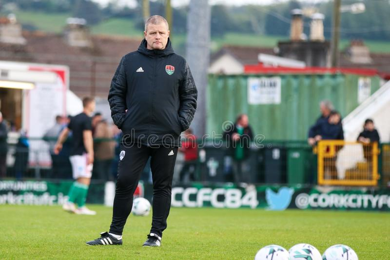 John Cotter during the Cork City FC vs Dundalk FC match at Turners Cross for the League of Ireland Premier Division. May 17th, 2019, Cork, Ireland - John Cotter stock photo