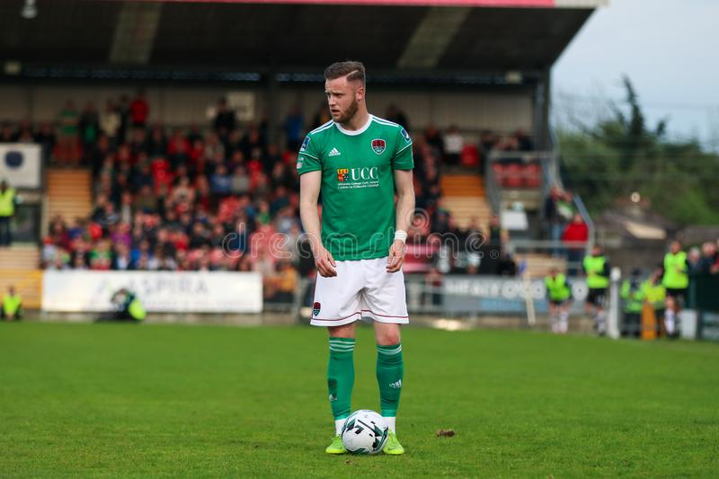 Kevin O'Connor during the Cork City FC vs Dundalk FC match at Turners Cross for the League of Ireland Premier Division. May 17th, 2019, Cork, Ireland stock images