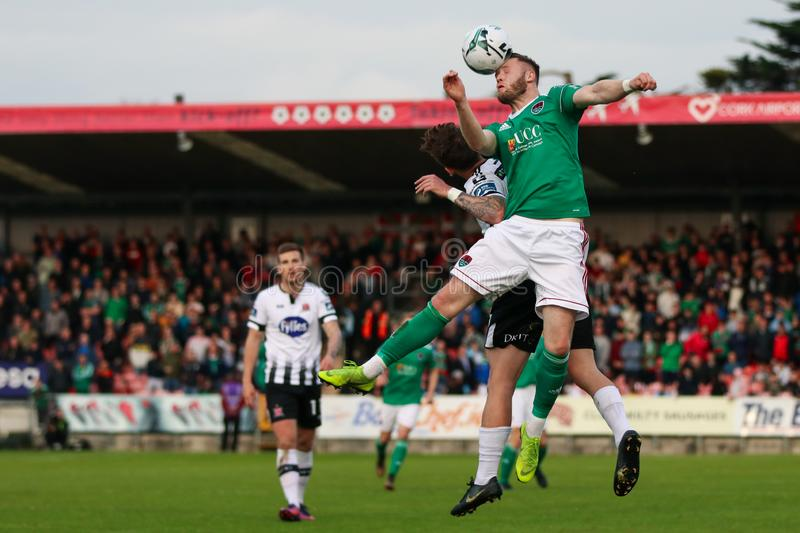 Kevin O`Connor during the Cork City FC vs Dundalk FC match at Turners Cross for the League of Ireland Premier Division. May 17th, 2019, Cork, Ireland - Kevin O` stock image