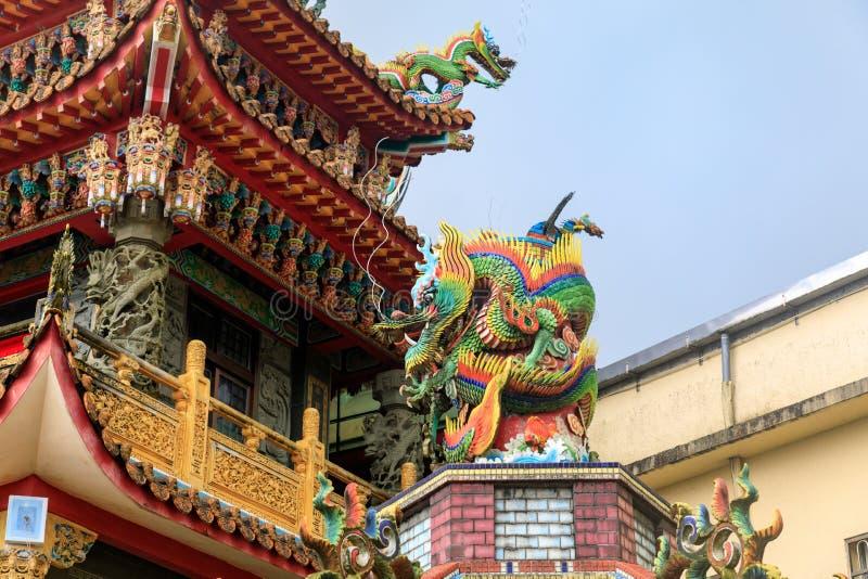 May 25, 2017 Xiahai Cheng Huang Temple Zhao Ling Miao at Jiouf. En, Taiwan - Tour destination stock images