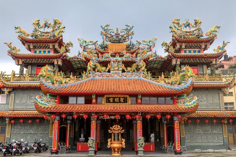 May 25, 2017 Xiahai Cheng Huang Temple Zhao Ling Miao at Jiouf. En, Taiwan - Tour destination royalty free stock photography