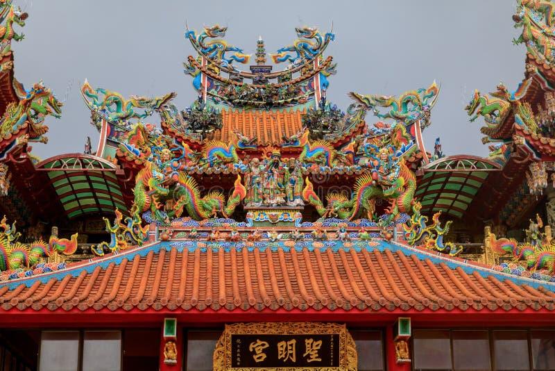 May 25, 2017 Xiahai Cheng Huang Temple Zhao Ling Miao at Jiouf. En, Taiwan - Tour destination royalty free stock photos