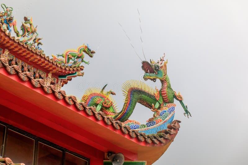 May 25, 2017 Xiahai Cheng Huang Temple Zhao Ling Miao at Jiouf. En, Taiwan - Tour destination royalty free stock photo