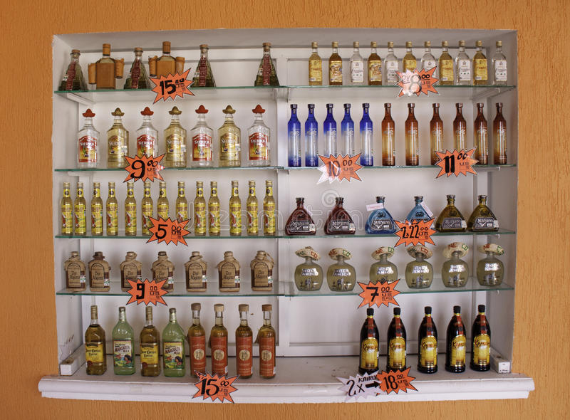 maya Μεξικό μερών πλευρών tequila στοκ εικόνα με δικαίωμα ελεύθερης χρήσης