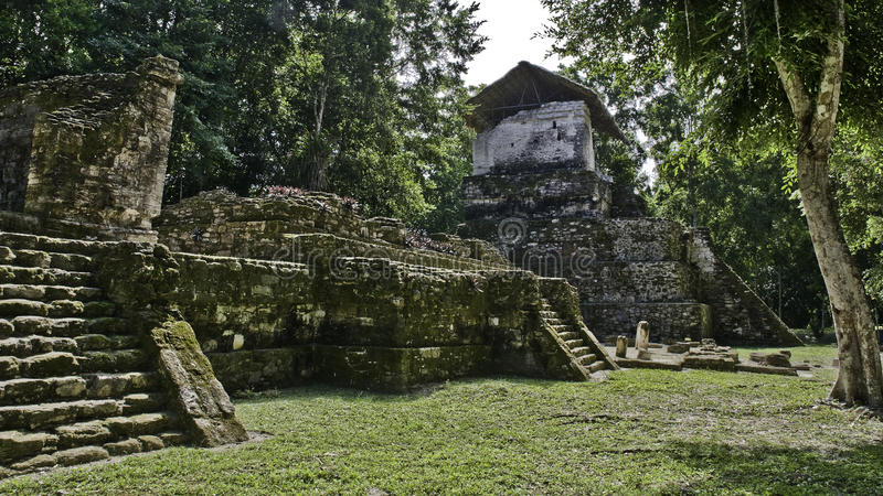 maya острова губит topoxte стоковые фотографии rf