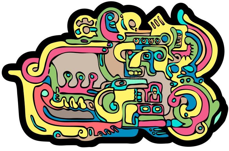 Download Maya stock vector. Illustration of archeology, indian - 6716623