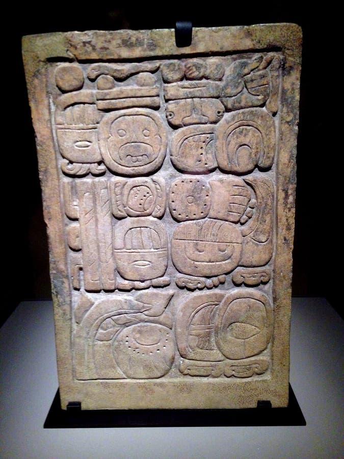 Maya Art antiga imagem de stock