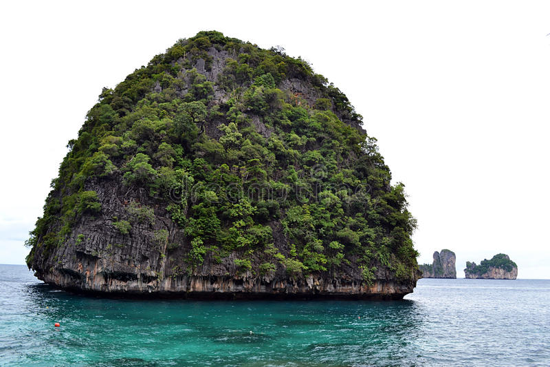 Download Maya Bay stock image. Image of mountain, tide, rain, beach - 23998781