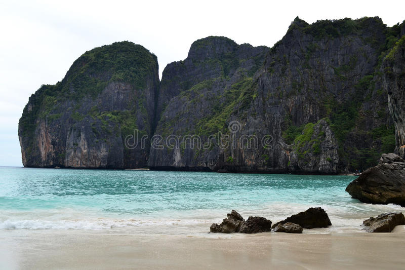 Download Maya Bay stock photo. Image of landscape, leasure, laguna - 23998814