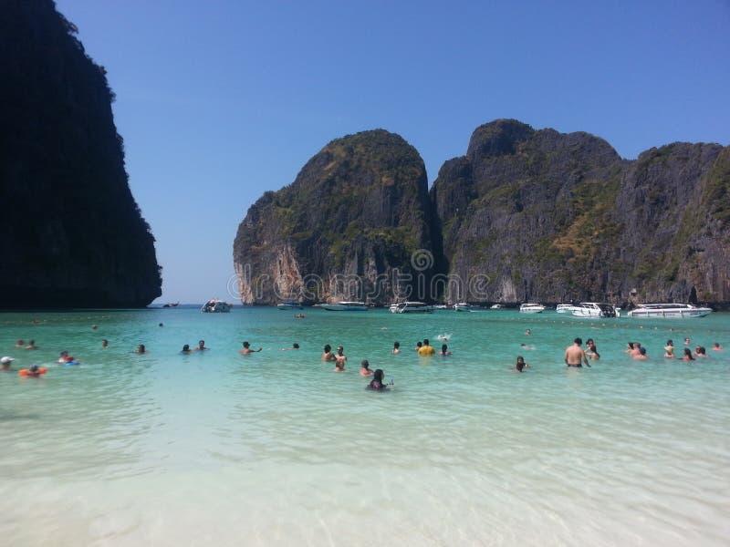 Maya Beach stock fotografie