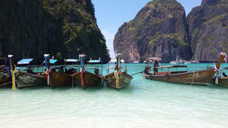 Maya beach stock image