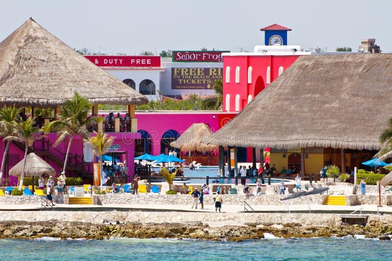 Maya de côte, Mexique image libre de droits