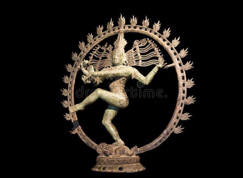 Maya de démon de danse au-dessus de shiva photos libres de droits