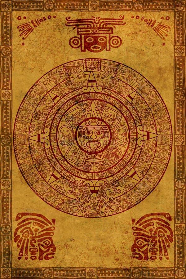 Maya kalender royalty-vrije stock foto