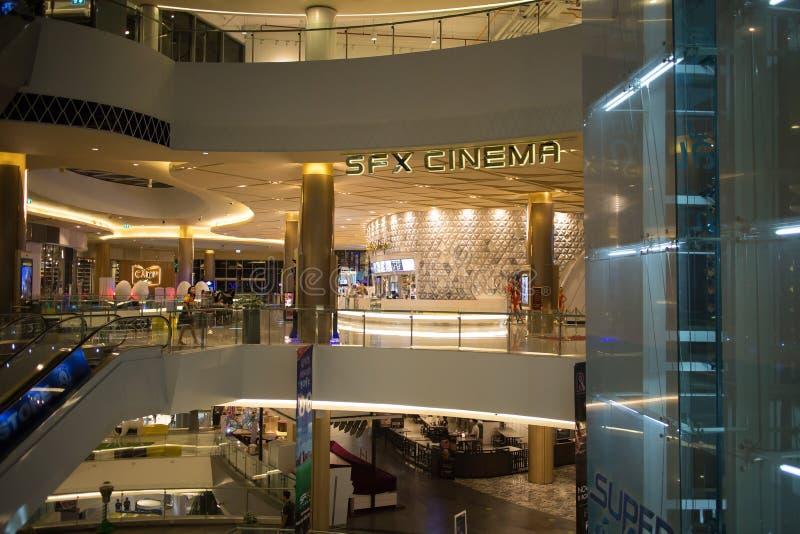 Maya Lifestyle Shopping Center intérieure images libres de droits