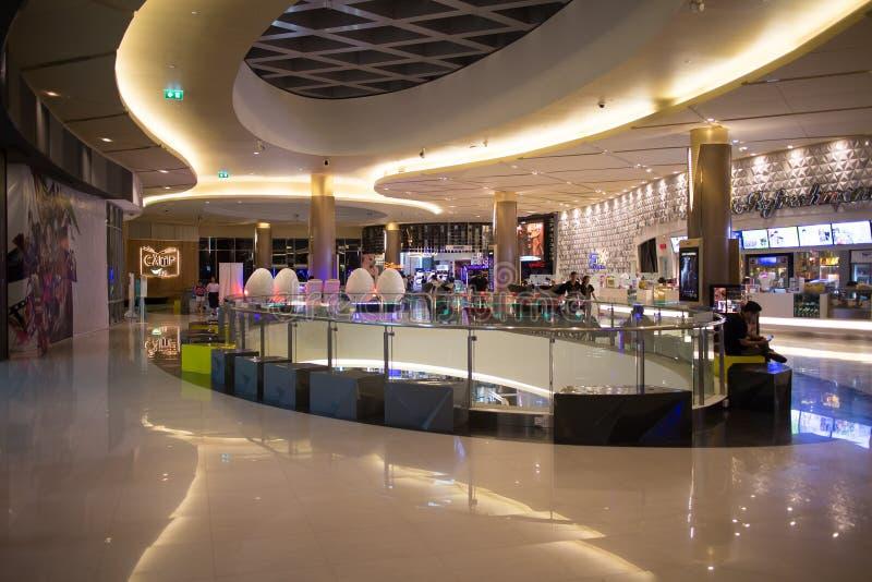 Maya Lifestyle Shopping Center interna immagine stock libera da diritti