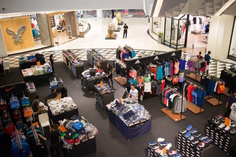 Maya Lifestyle Shopping Center interna fotografia stock libera da diritti